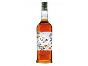 Giffard Caramel Salted - Sirup s příchutí slaného karamelu 1l
