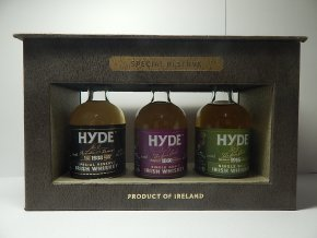 Hyde Whiskey NO3+NO5+NO6 - dárkové balení 46% 3x0,05l