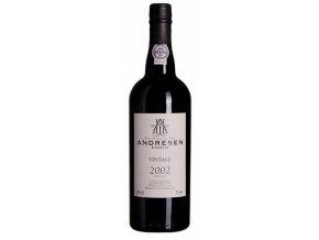 Portské víno J.H. Andresen Vintage 2002 Port 0,75l