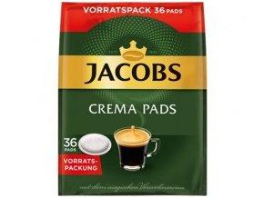Káva Jacobs Crema Pads Klassisch - pody -36 Ks