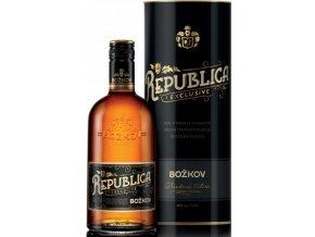 Božkov Republica rum v tubě 38% 0,7l