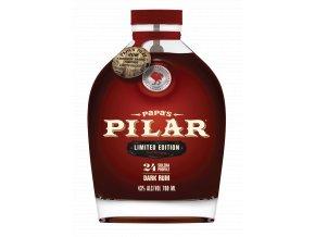 Papas Pilar Dark Rum Bourbon Barrel Finished 0,7l