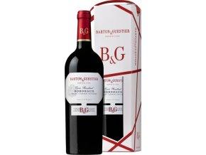 Barton&Guestier Bordeaux Rouge AOC 0,75L, dárkové balení