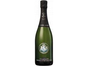 45758 champagne barons de rothschild extra brut v darkovem baleni 0 75l