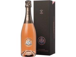 45773 champagne barons de rothschild rose v darkovem baleni 0 75l