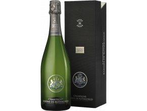 45776 champagne barons de rothschild brut vintage 2010 millesime v darkovem baleni 0 75l