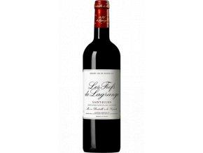 les fiefs de lagrange saint julien rouge bouteille 11