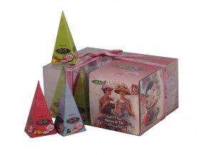 pyramidky bily caj charme