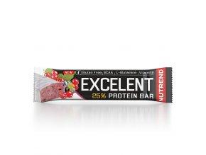 excelent protein bar 85g cerny rybiz