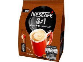 49301 nescafe 3in1 brown sugar 10x16 5g