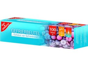 50366 gefrierbeutel sacky do mrazaku 1l 100ks edeka