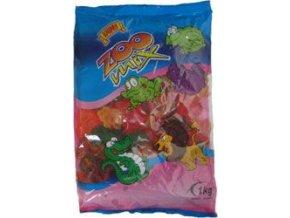 50525 bonbony zoo mix zele s ovocnou prichuti 1kg