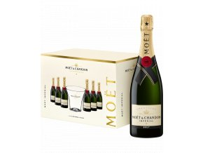 59207 moet chandon imperial brut 6 lahvi 0 75l a 1 ice bucket nadoba na led
