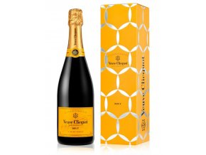 veuve clicquot yellow label brut champagne comet gift box