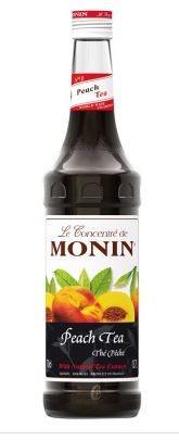 Monin (sirupy, likéry) Monin Peach Tea 0,7 l