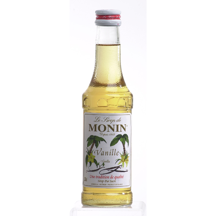 Monin (sirupy, likéry) Monin Vanille - vanilka 0,25 l