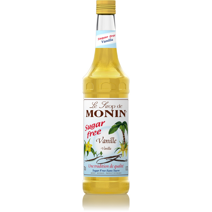 Monin (sirupy, likéry) Monin vanilla - vanilka bez cukru 0,7 l