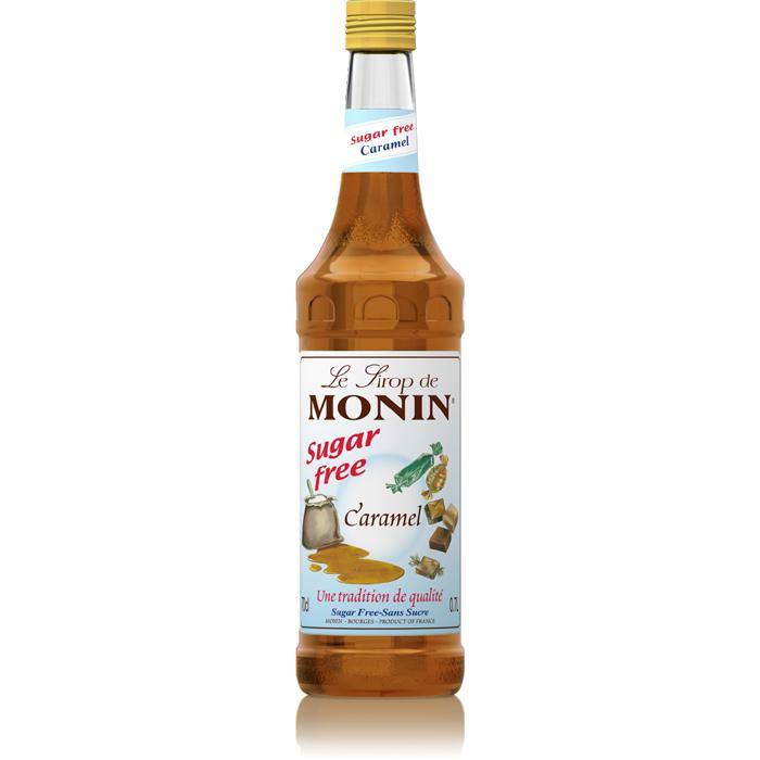 Monin (sirupy, likéry) Monin caramel - karamel bez cukru 0,7 l