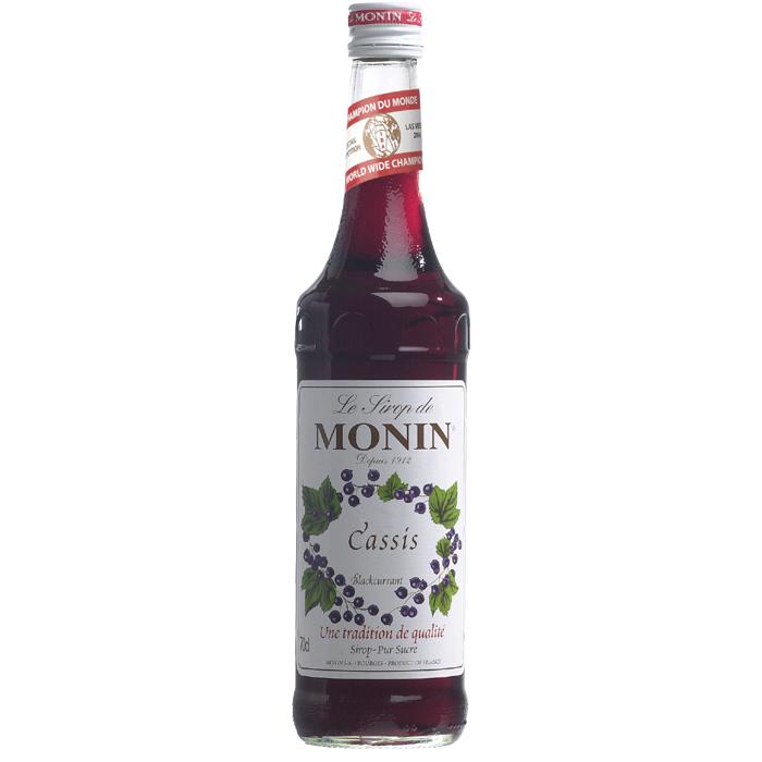 Monin (sirupy, likéry) Monin cassis - černý rybíz 0,7 l
