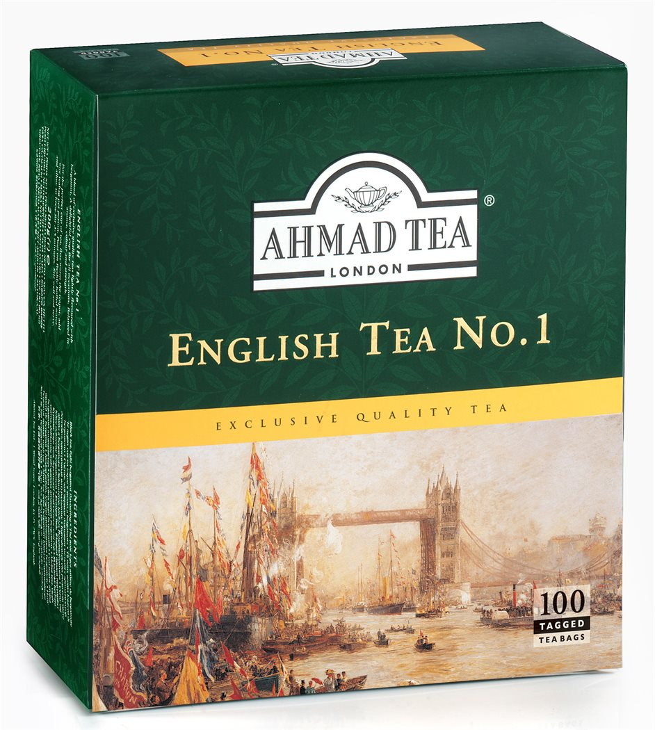 Ahmad Tea (čaj) Čaj English No. 1 100 sáčků Ahmad Tea