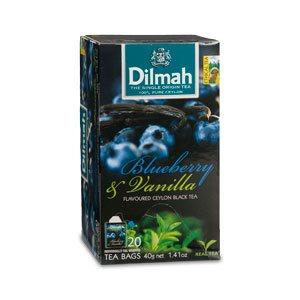 Dilmah (čaj) Čaj černý borůvka + vanilka 20sáčků DILMAH
