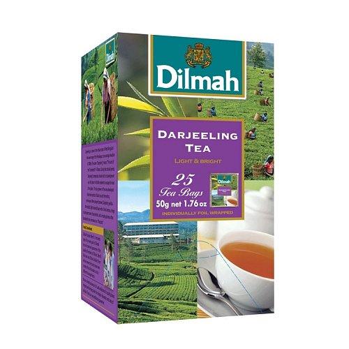 Dilmah (čaj) Čaj černý Darjeeling 25sáčků DILMAH