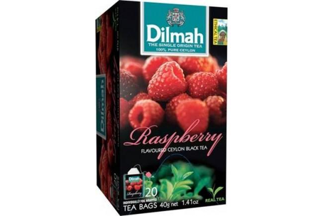 Dilmah (čaj) Čaj černý malina 20sáčků DILMAH