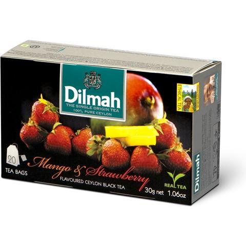 Dilmah (čaj) Čaj černý mango + jahoda 20sáčků DILMAH
