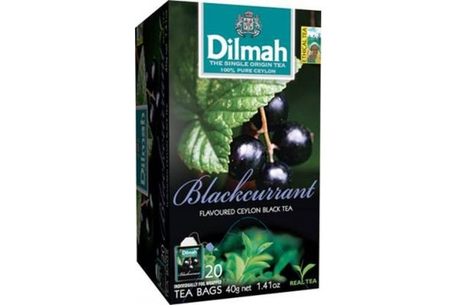 Dilmah (čaj) Čaj černý rybíz 20sáčků DILMAH