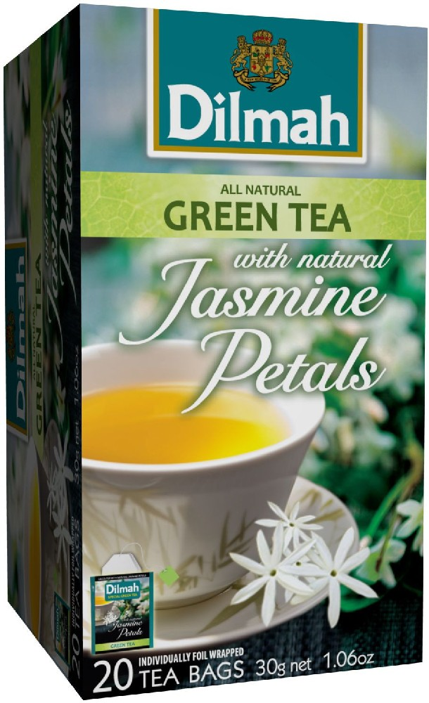 Dilmah (čaj) Čaj zelený Jasmín 20 sáčků DILMAH