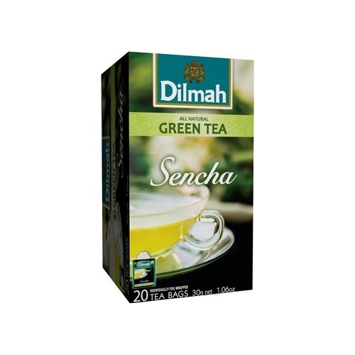Dilmah (čaj) Čaj zelený Sencha 20 sáčků DILMAH