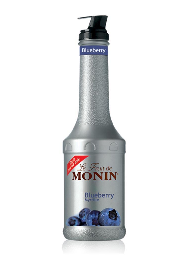 Monin puree blueberry 1 l - pyré borůvka