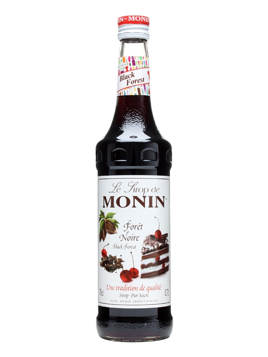 Monin (sirupy, likéry) Monin Black forest ( třešeň a kakao ) 0,7l