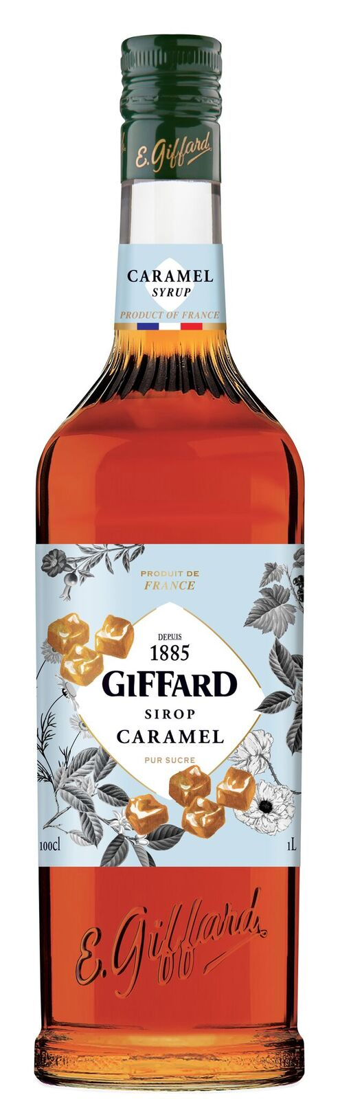 Giffard (sirupy, likéry) Giffard Caramel - Karamelový sirup 1l