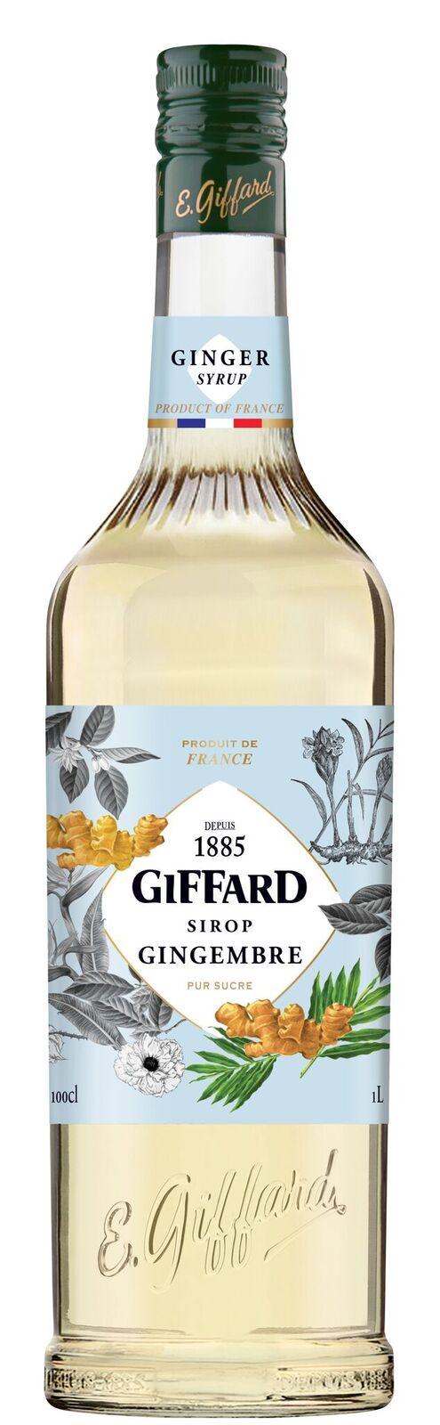 Giffard (sirupy, likéry) Giffard Ginger - zázvorový sirup 1l