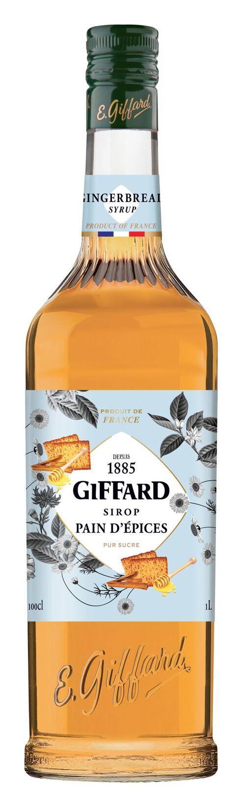 Giffard (sirupy, likéry) Giffard Gingerbread - perníkový sirup 1l