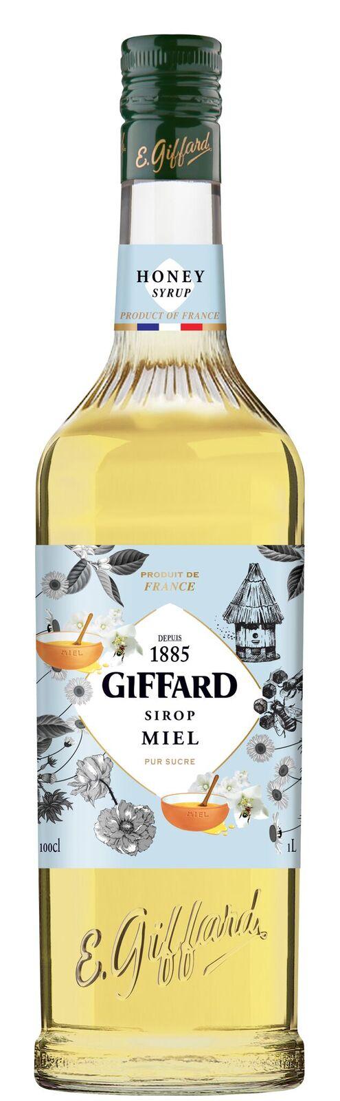 Giffard (sirupy, likéry) Giffard Honey- medový sirup 1l