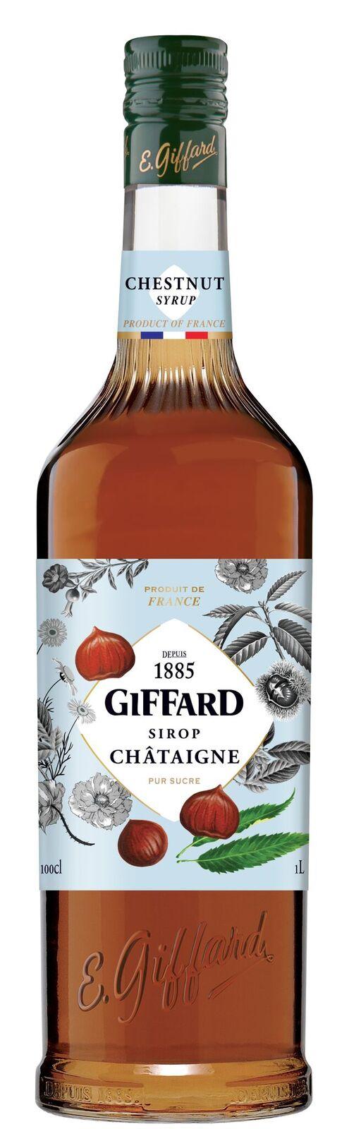 Giffard (sirupy, likéry) Giffard Chestnut - Kaštanový sirup 1l
