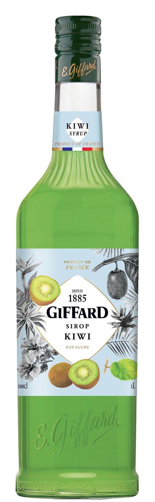 Giffard (sirupy, likéry) Giffard Kiwi sirup 1l