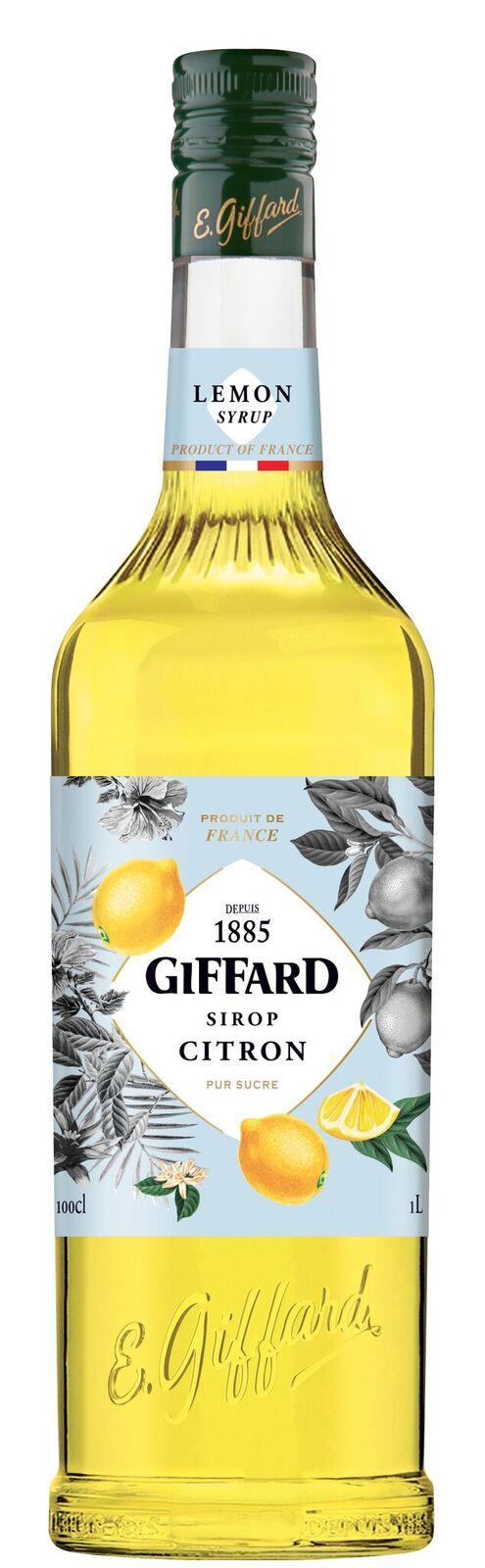 Giffard (sirupy, likéry) Giffard Lemon - citrónový sirup 1l