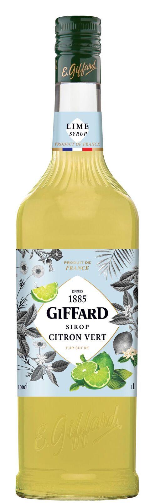 Giffard (sirupy, likéry) Giffard Lime - limetkový sirup 1l