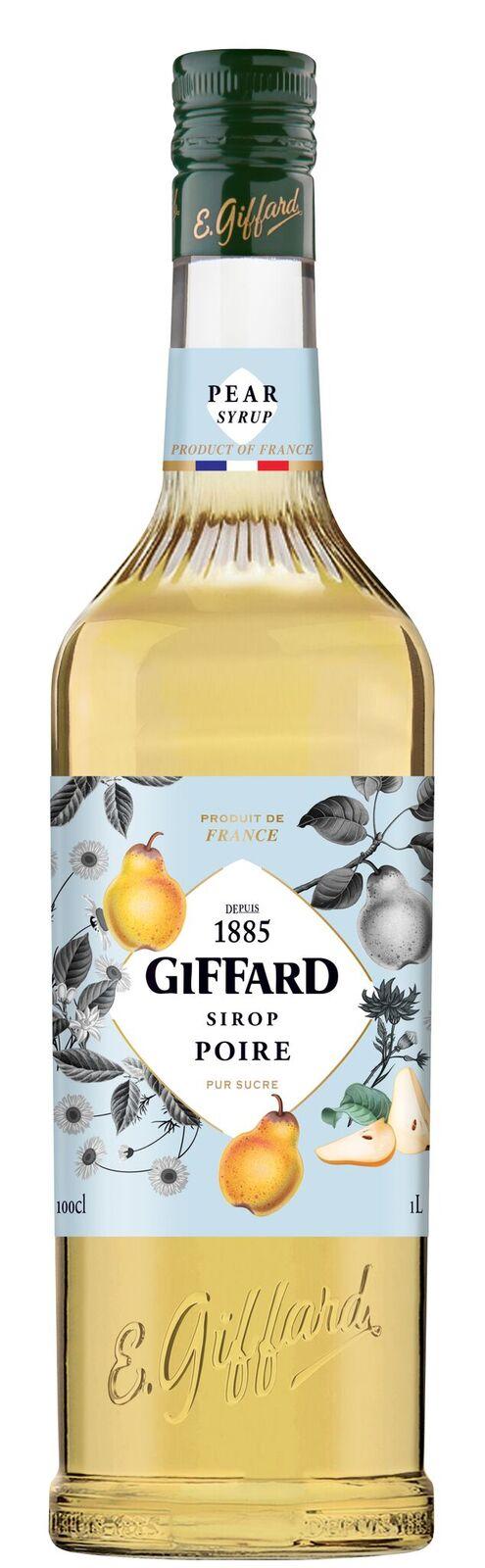 Giffard (sirupy, likéry) Giffard Pear - Hruškový sirup 1l