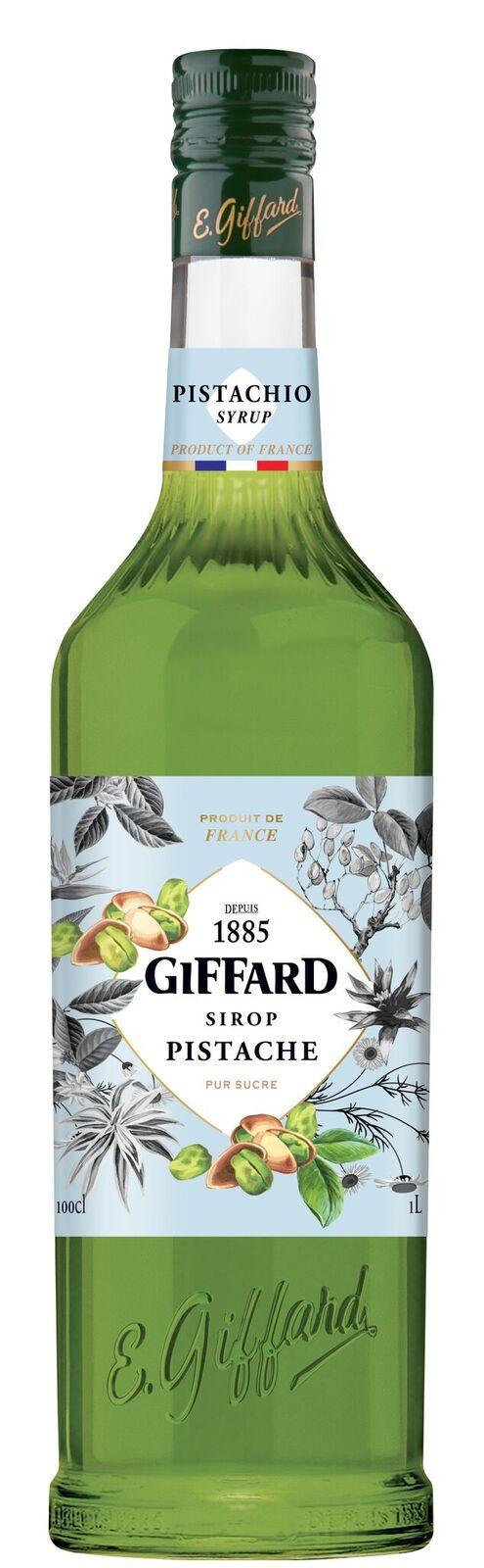 Giffard (sirupy, likéry) Giffard Pistachio - Pistáciový sirup 1l