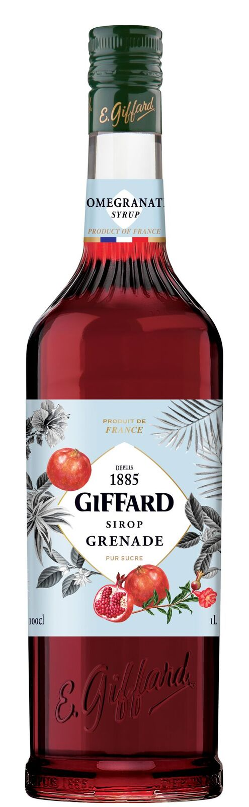 Giffard (sirupy, likéry) Giffard Pomegranate - sirup granátové jablko 1l