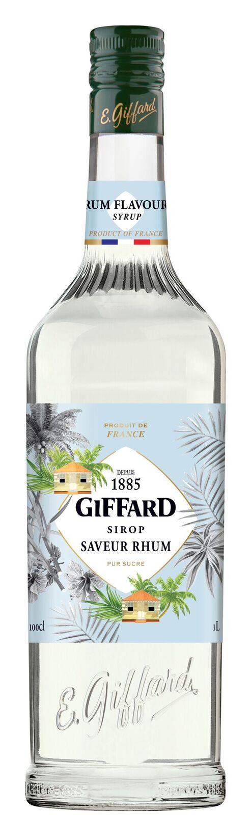 Giffard (sirupy, likéry) Giffard Rhum - rumový sirup 1l