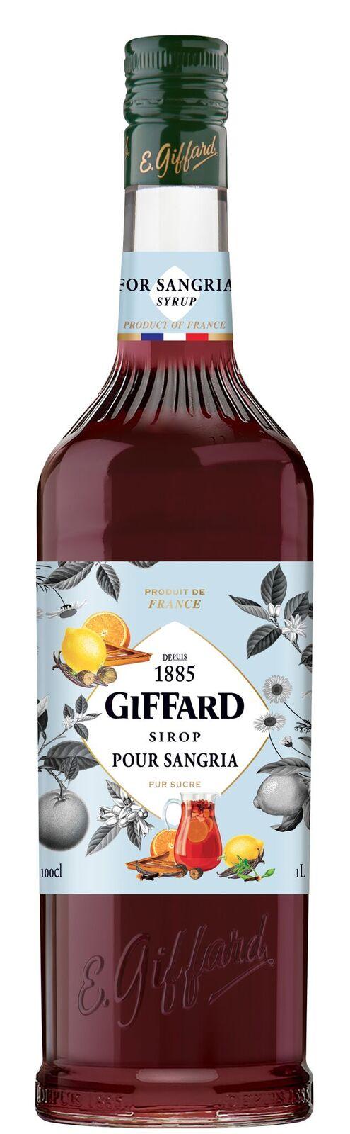 Giffard (sirupy, likéry) Giffard Sangria 1l