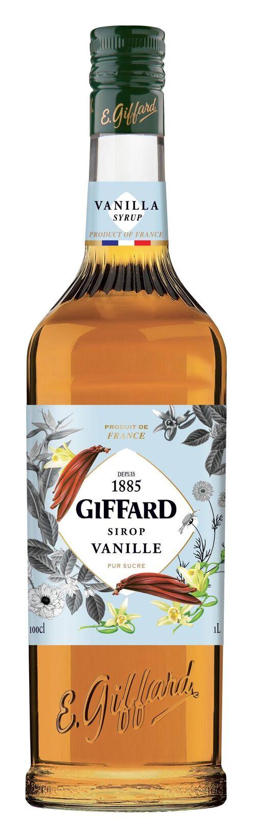 Giffard (sirupy, likéry) Giffard Vanilla - vanilkový sirup 1l