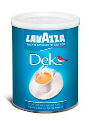 Lavazza (káva) Káva Lavazza Dek - bez kofeinu - mletá 250g dóza
