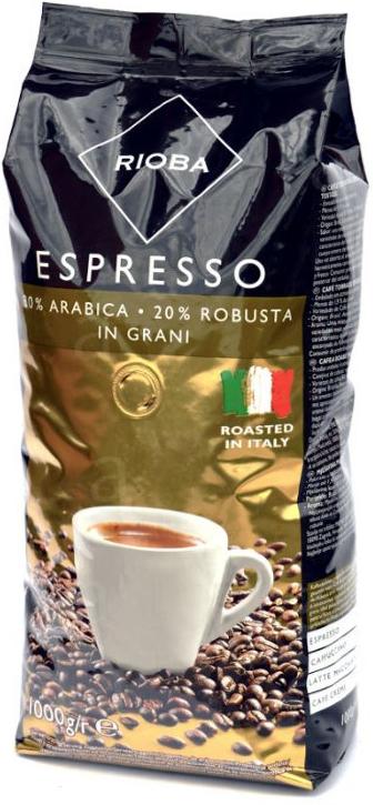 Káva Rioba Espresso Gold zrnková 1 Kg