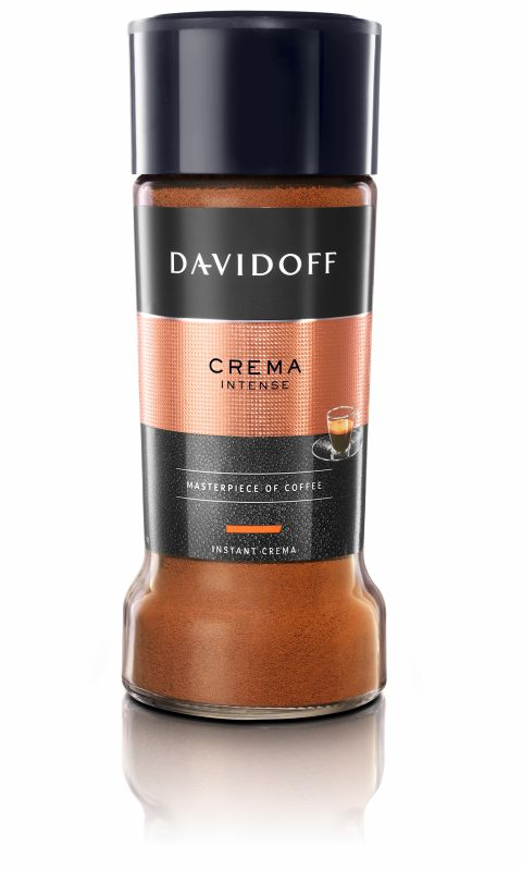 Káva Davidoff Cafe Crema Intense - instantní káva 100g